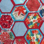 HEXAGON STITCH AS YOU GO